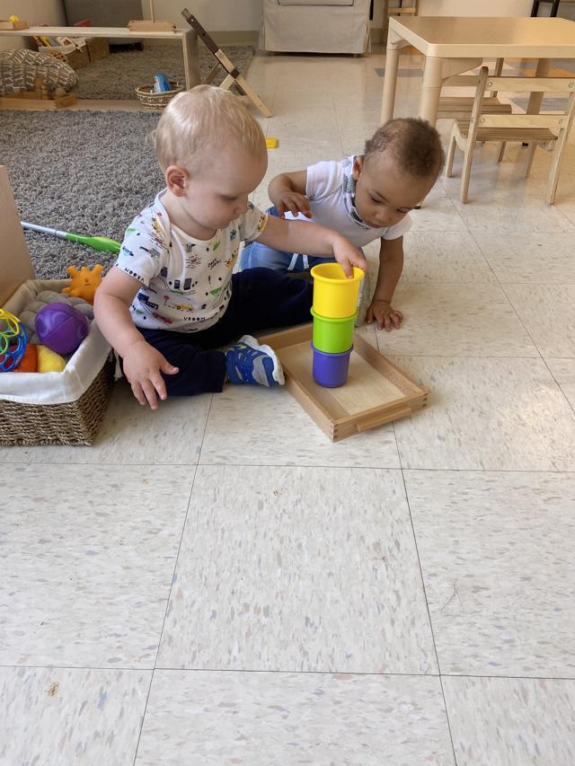 Authentic Montessori infant materials