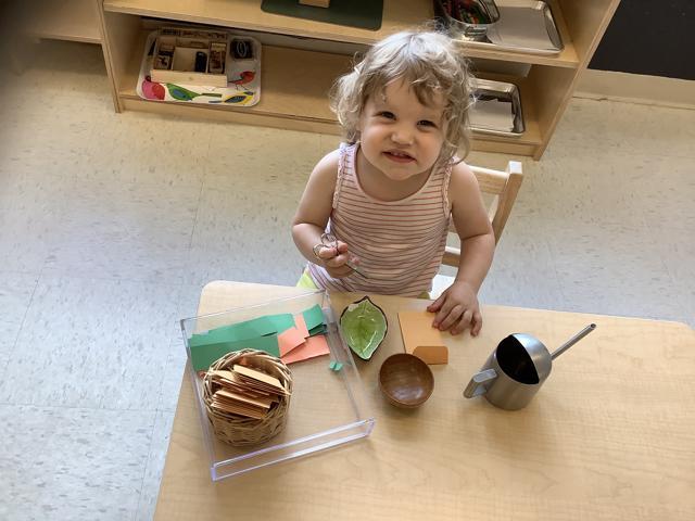 Best Montessori School in St. Louis Practical Life Fine motor skills