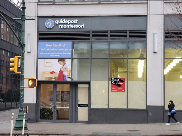 Guidepost Montessori at Columbus Square is a new Montessori school now enrolling on the Upper West Side of Manhattan.